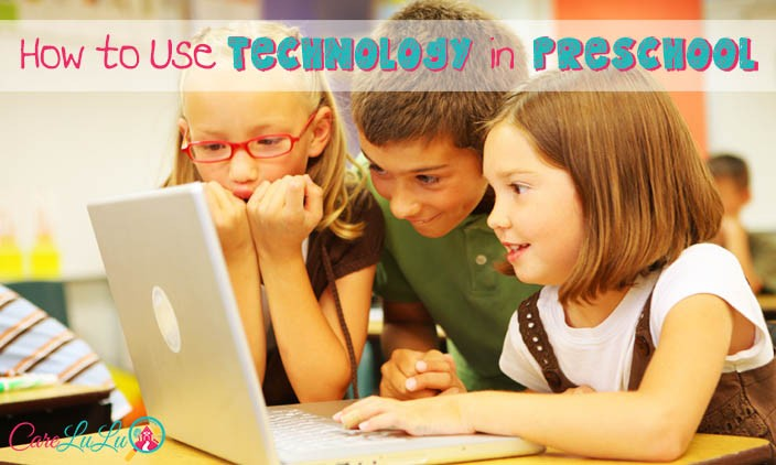 How to use technology in child care and preschool