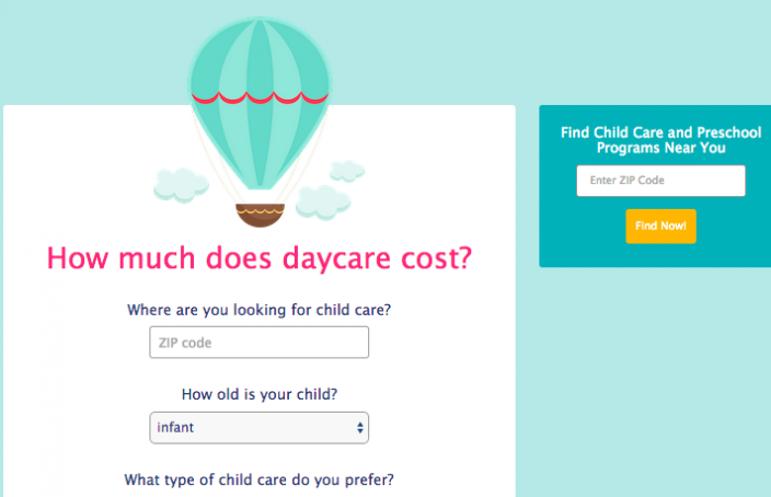 New Daycare Tuition Calculator on CareLuLu