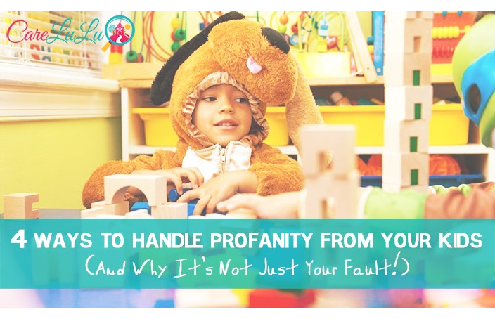 4 Ways to handle profanity from your kids