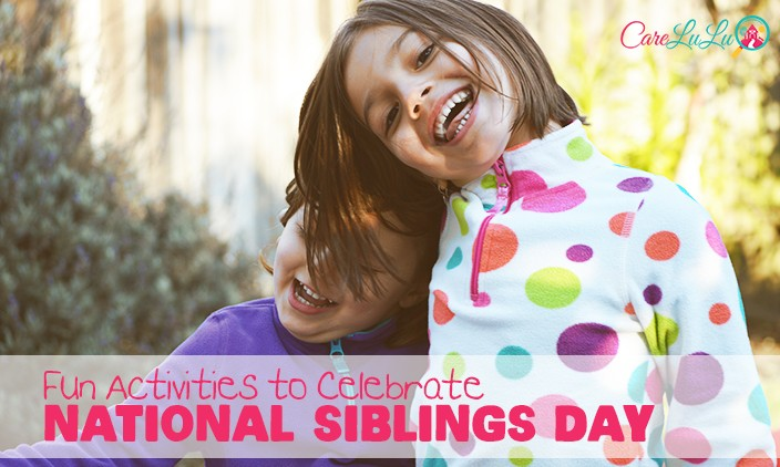Fun Kids Activities To Celebrate National Siblings Day