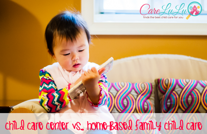 child care center vs home daycare