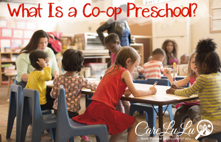 What is a co-op preschool?