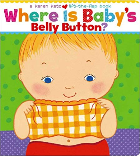 Best books for babies: Where Is Babys Belly Button